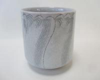 青白磁焼酎杯